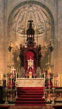 Santa Maria church, Ronda, Spain - church interior