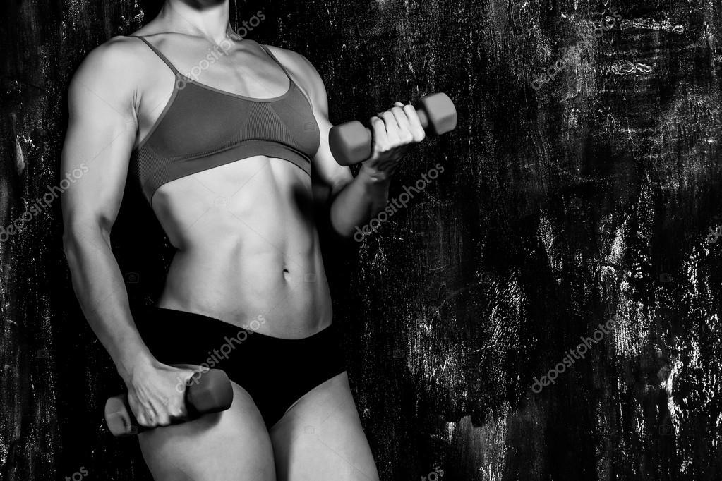 Muskulös schwarz lesbisch