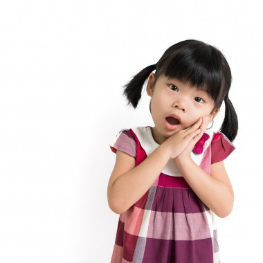Little Asian child