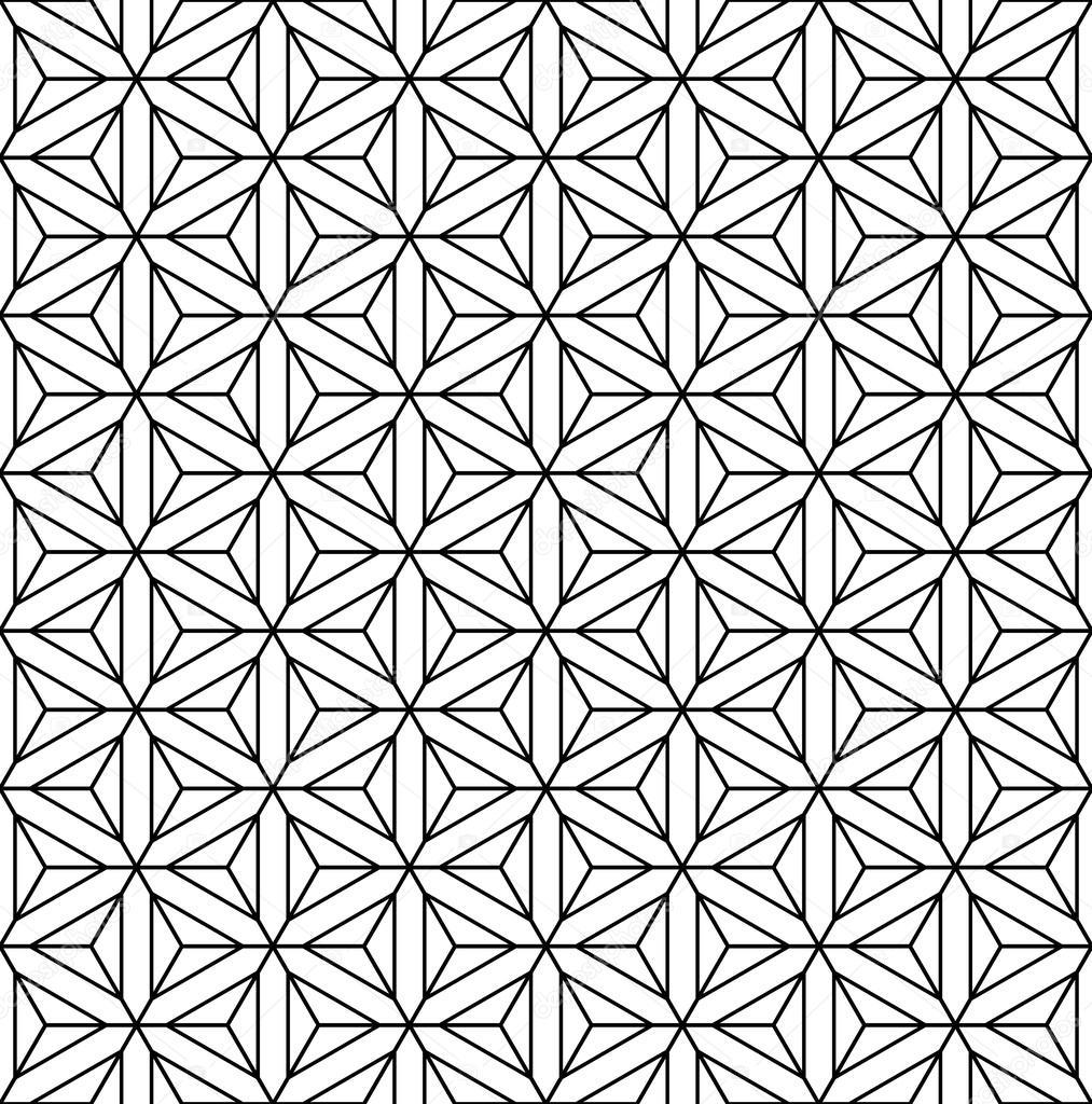 Trama Senza Soluzione Di Continuità Geometrica Op Art Vettoriali