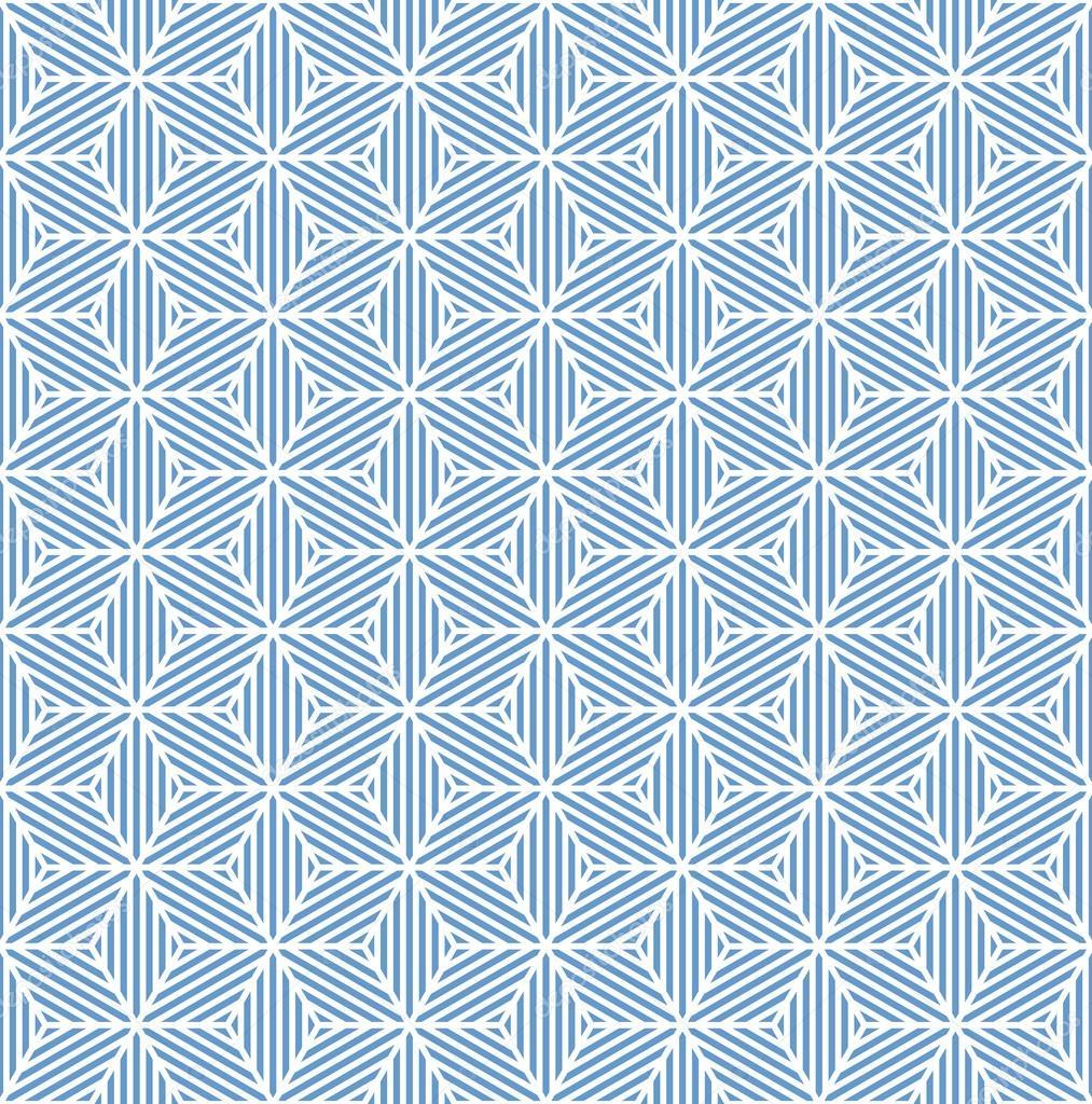 Seamless Texture Geometrica Blu Vettoriali Stock Troyka 35117469