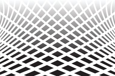 Textured distorted surface. Abstract op art  background.