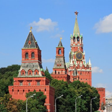 Towers Moscow Kremlin