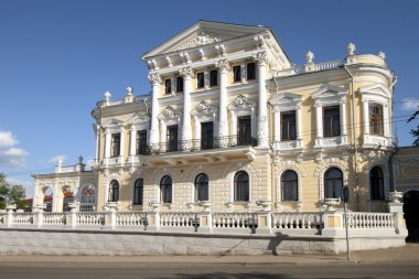 Museum of local lore in a historical building in Perm.