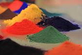 farbige Pulverbeschichtung