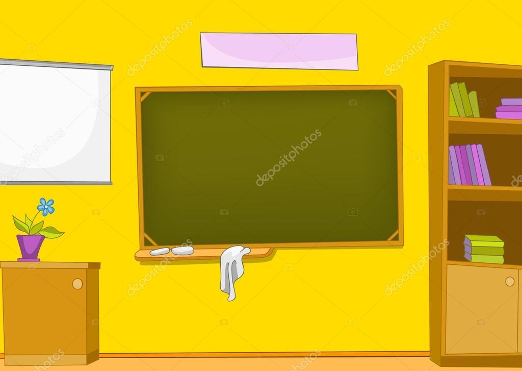 Classroom Cartoon