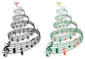 Fa zenei jegyzetek, vektor