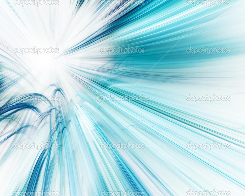 abstrait bleu sur le design de fond blanc — Photographie Emelyanov © #31434439