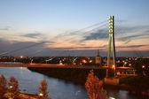 most pro pěší přes řeku tura, Ťumeň, v ni