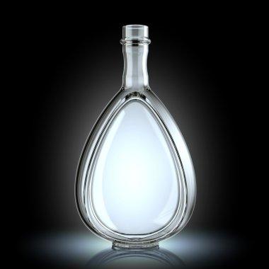 Bottle for alcoholic beverages