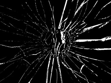Broken Shattered glass
