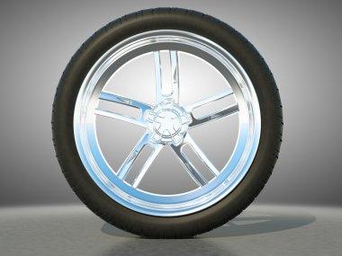 Automotive alloy wheel