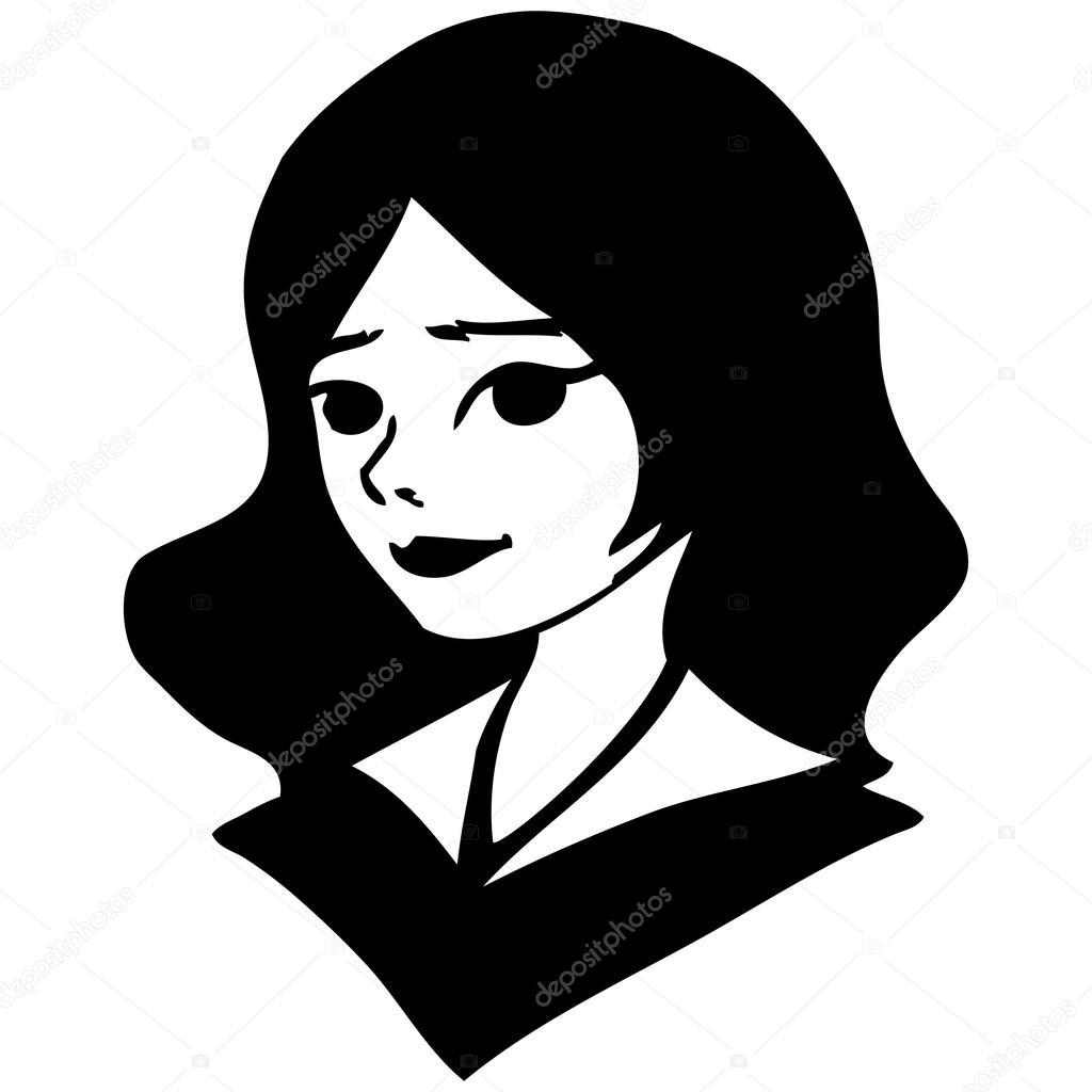 черно-белые графические рисунки картинки