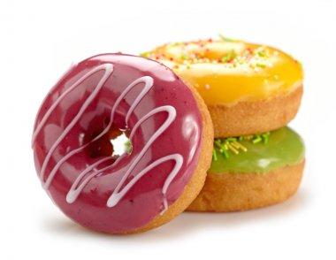 Baked doughnuts stock vector
