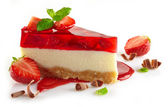 Fotografie strawberry cheesecake