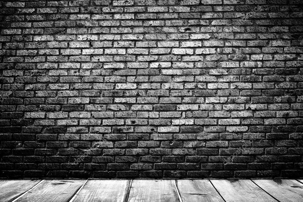 Dunklen Raum Mit H 246 Lzernen Stock Und Stein Wand