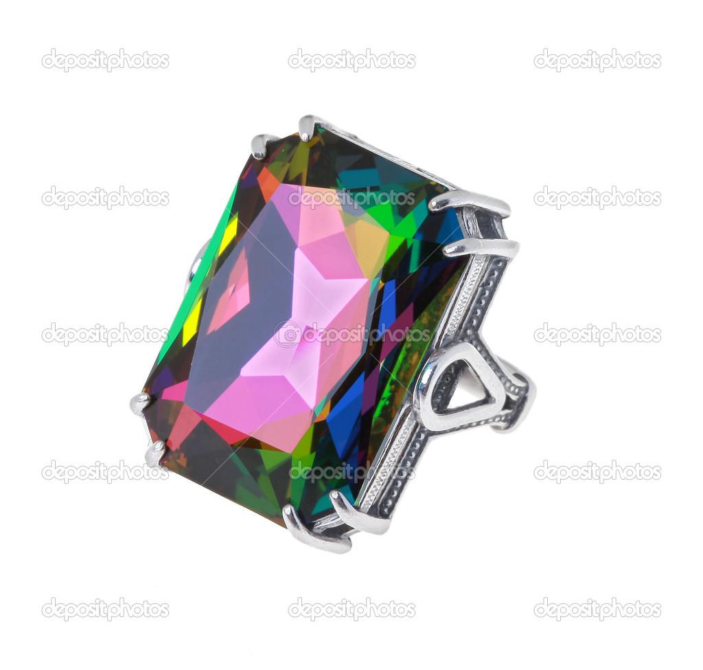 68274e0ee7b2 anillo con cristal grande — Fotos de Stock © avevstaf  35389531