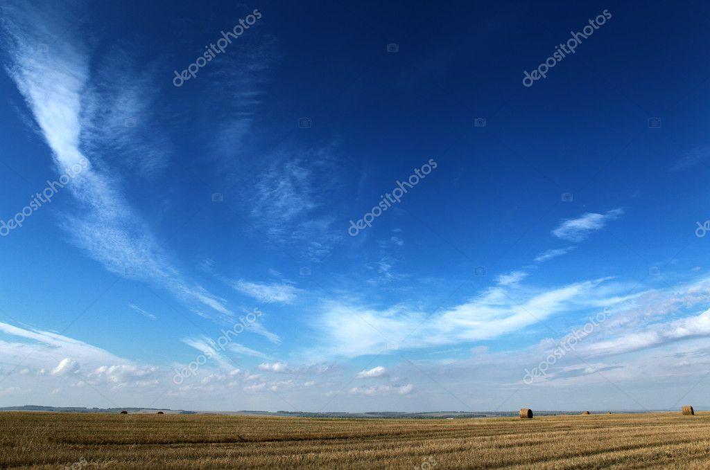 dark blue sky