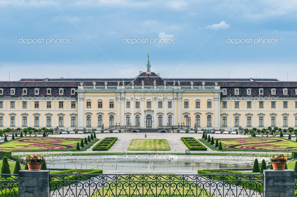 ルートヴィヒスブルク宮ドイツで...