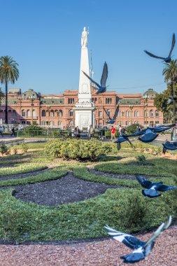 Plaza de Mayo in Buenos Aires, Argentina.