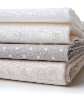 stack of new fabrics