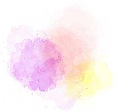 Spots of watercolor