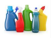 Mosószer palackok. tisztítószerek