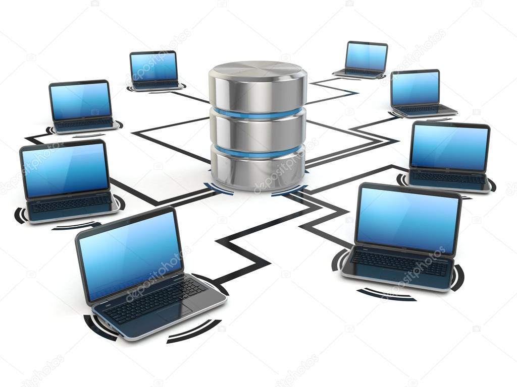 Almacenamiento De Base De Datos Y Computadoras Port Tiles