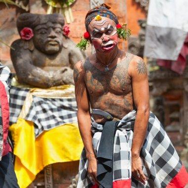 Barong and Kris Dance perform, Bali, Indonesia