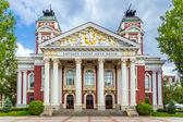 Fotografie National theatre Ivan Vazov, Sofia, Bulgaria