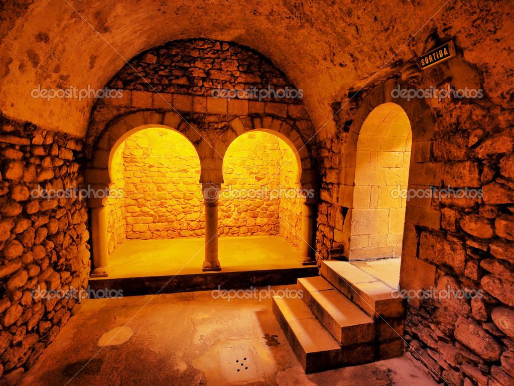 bagni arabi di girona, Spagna — Foto Stock © karkozphoto #24398707