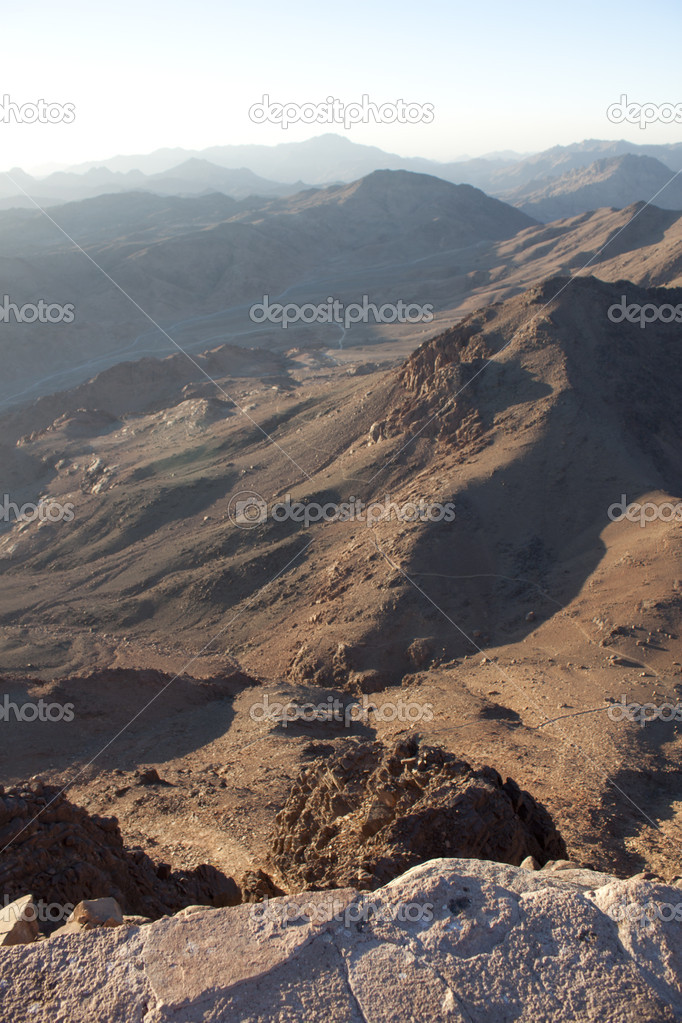 Mountain landscape in Egypt