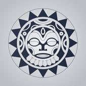 Fotografia tatuaggio in stile polinesiano
