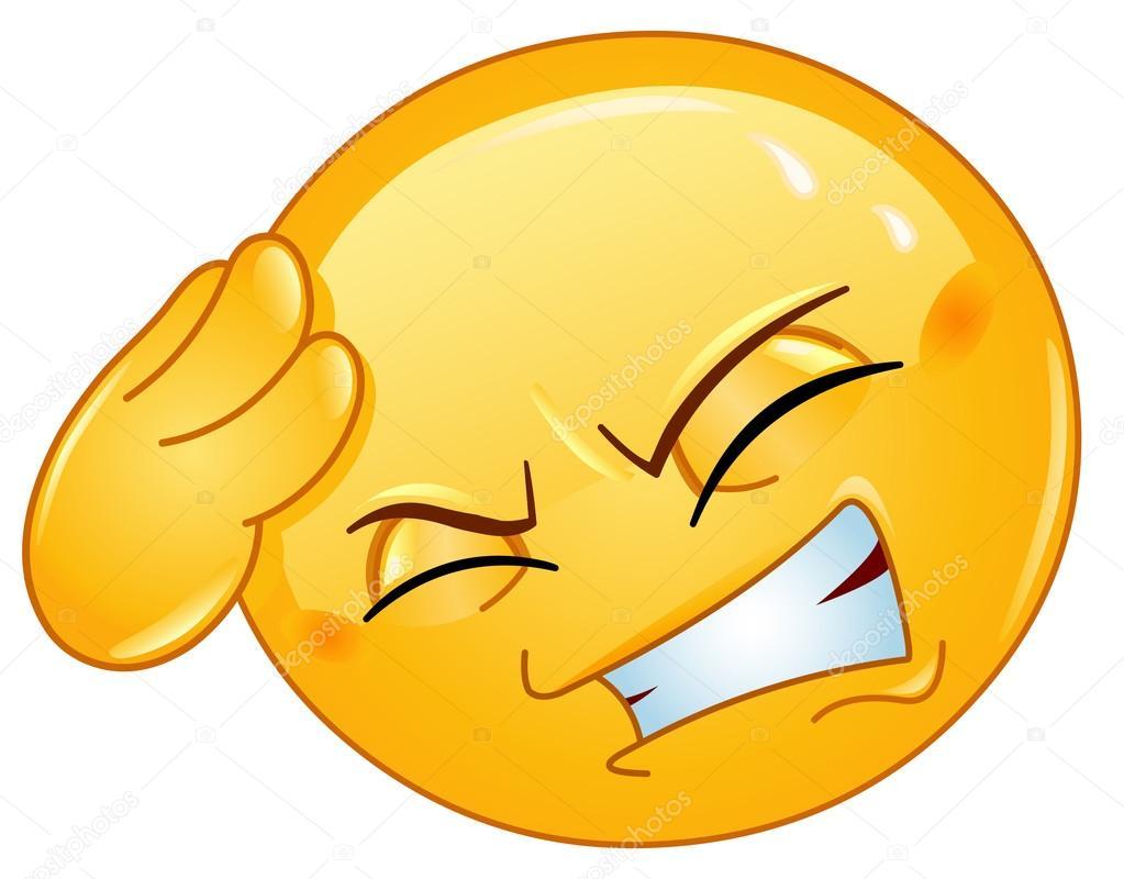 Images Headache Emojis Headache Emoticon Stock Vector C Yayayoyo 12221488