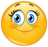 Photo Eyelashes emoticon