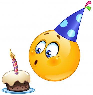 Birthday emoticon