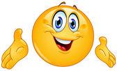 Fotografie Emoticon zu präsentieren