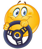 Photo Driving emoticon