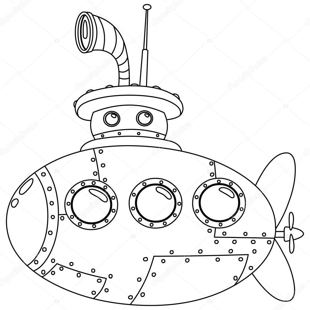 Seviyelendirilmiş Denizaltı Stok Vektör Yayayoyo 48878721
