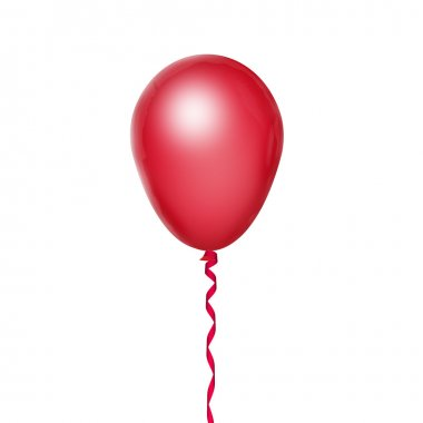 Red ballon stock vector