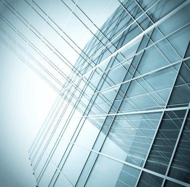 Corporate buildings stock vector