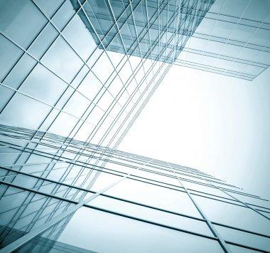 """Картина, постер, плакат, фотообои """"активный бизнес-опыт строительства современных небоскребов """", артикул 17087679"""