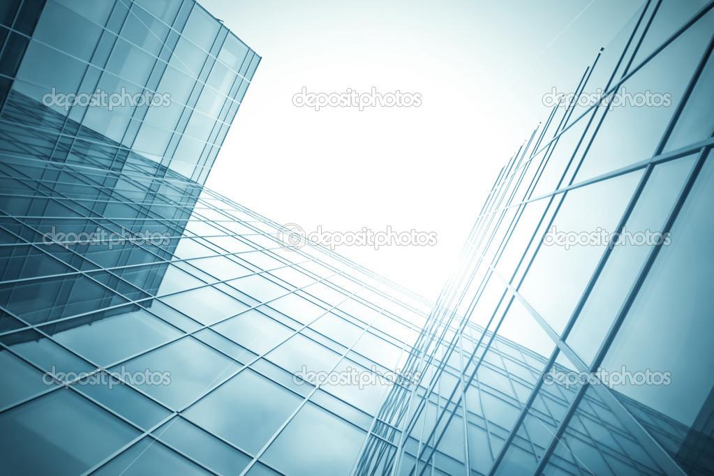 Glasfassade textur  textur von glas-hochhaus — Stockfoto #25214275