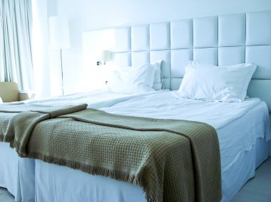 Bed room inside hotel