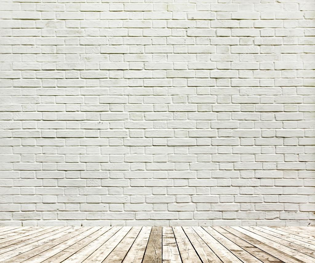 Background of aged grungy textured white brick and stone - Pared ladrillo blanco ...