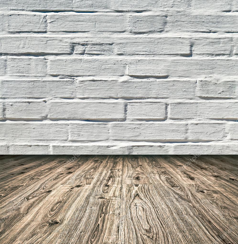 fond d 39 ge grungy textur blanc brique et mur de pierre rouge avec parquet clair avec tableau. Black Bedroom Furniture Sets. Home Design Ideas