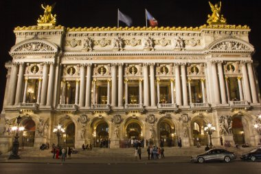 Opera Garnier at night, Paris