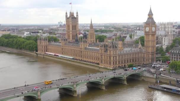 Letecký pohled na Londýn, Anglie