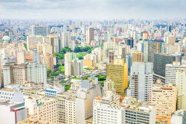 View of Sao Paulo. Brazi,