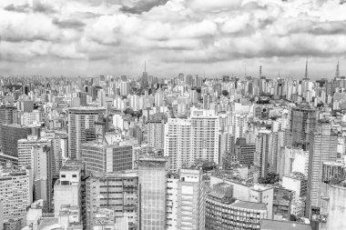 Aerial view of Sao Paulo, Brazil